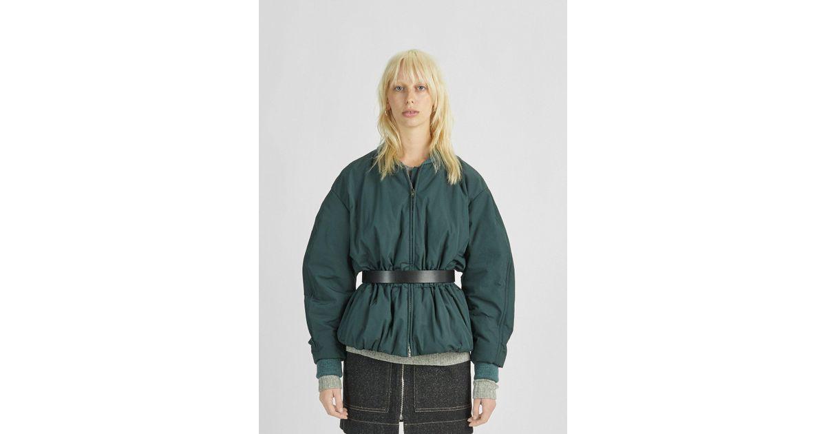 1b825eaeb Isabel Marant Green Dex Bomber Jacket