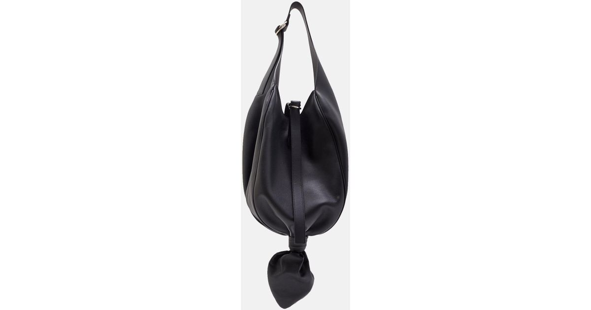 Knot Hobo bag - Black J.W.Anderson