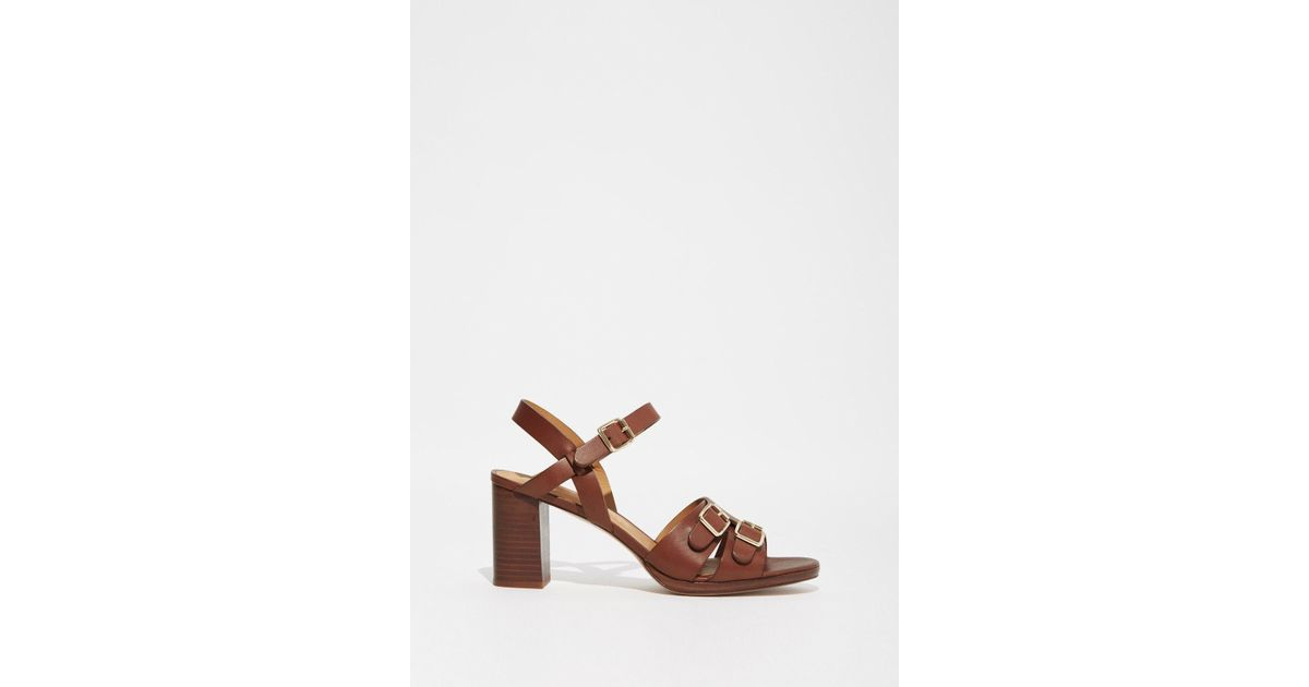 buy cheap discount cheap online A.P.C. Leather Caged Sandals oJJxI188E