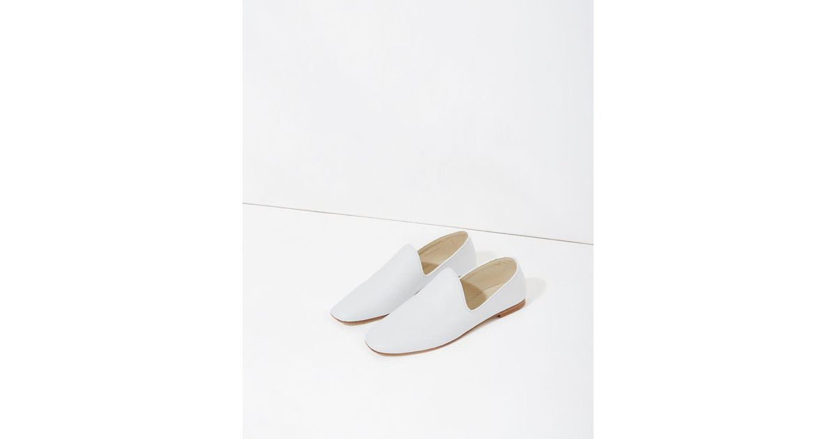 LEMAIRE Off- Leather Loafers Purchase Online Low Shipping Fee Cheap Price Clearance Purchase XC761