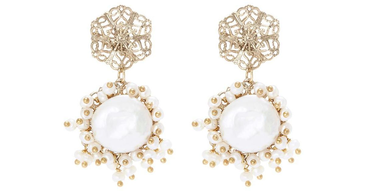 Rosantica Corte earrings with pearl KERcVlco0