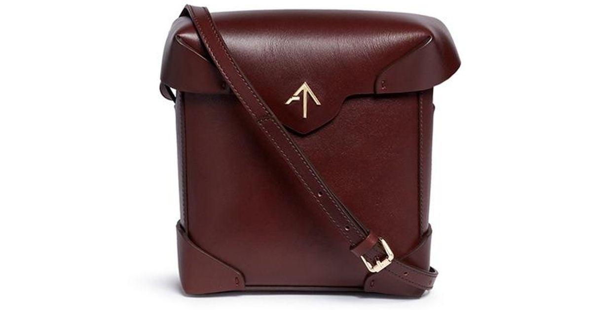 Manu Atelier 'pristine' Crossbody Lyst Bag Leather Mini rprvqw
