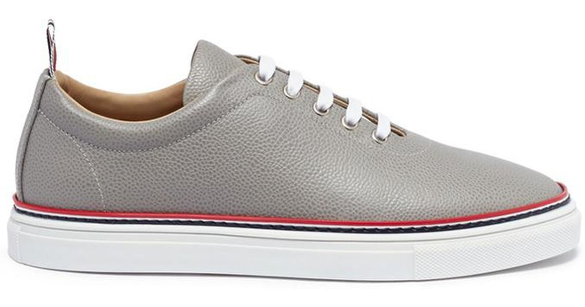 Thom Browne White Crystal Falacer Rainbow Sneakers discount visit new largest supplier P4tbzsFT