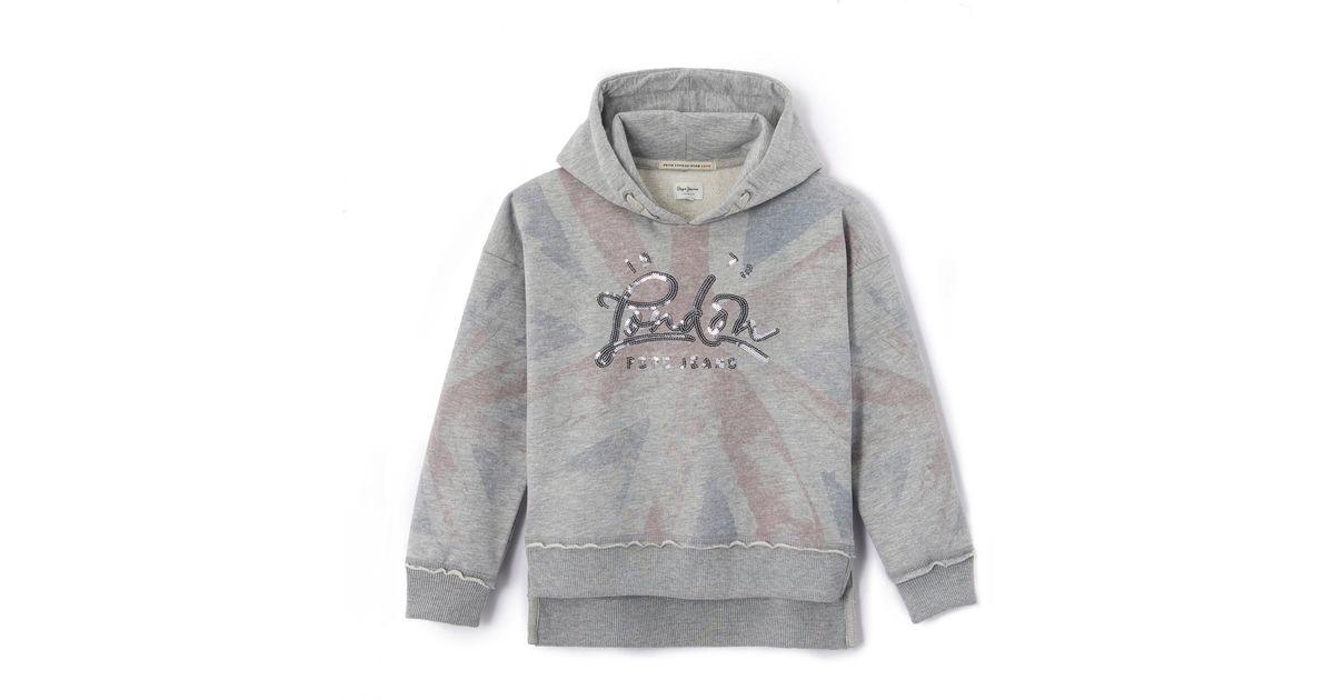 Pepe Jeans Sweat À Capuche in Gray for Men - Lyst e0a55d7184a1