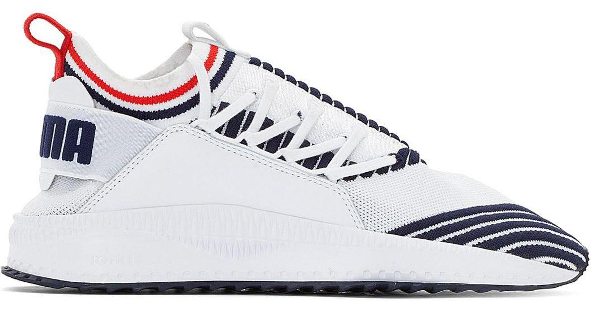 PUMA Tsugi Jun Sport Stripe Lace-Up Trainers 100% authentic cheap online buy cheap newest bHPqC9T