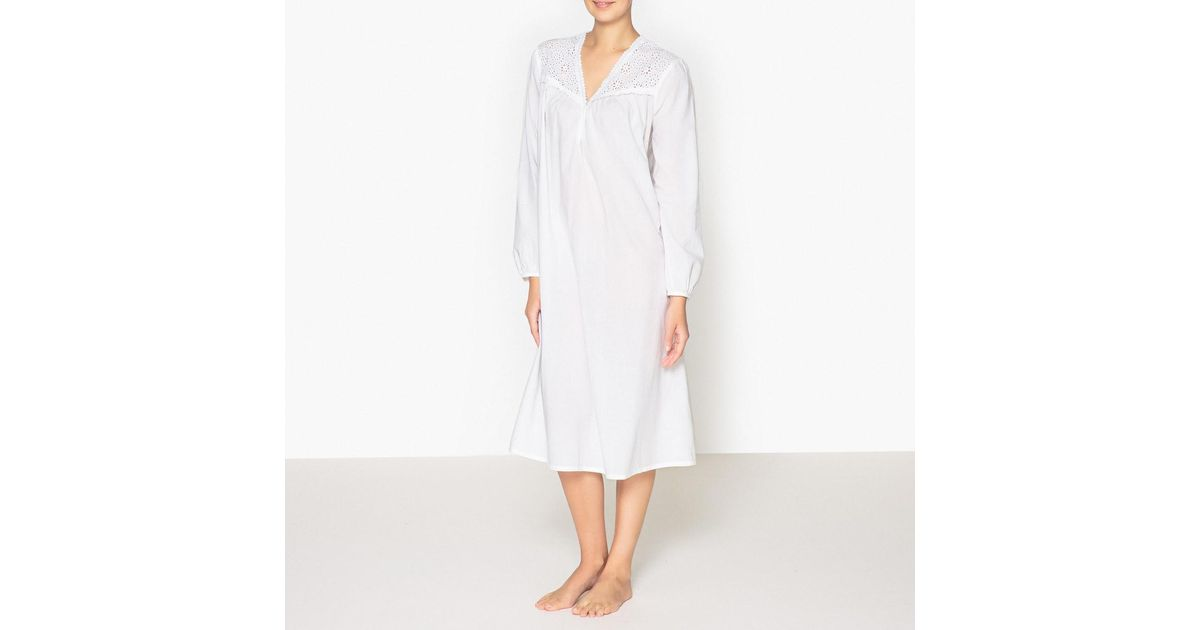 Lyst - La Redoute Nightshirt in White 1950a033a