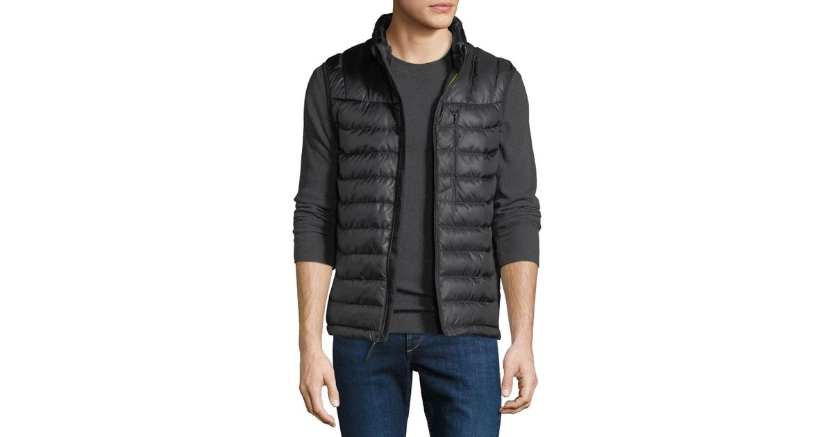 b7be267bd9af8 Lyst - Body Glove Men s Soft-touch Puffer Down Vest in Black for Men