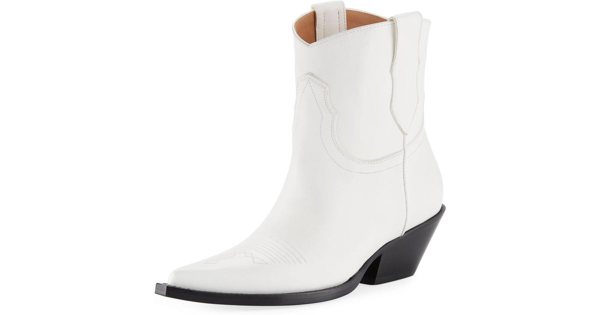 full range of specifications top-rated professional luxury aesthetic Maison Margiela White Cowboy 45mm Western Booties
