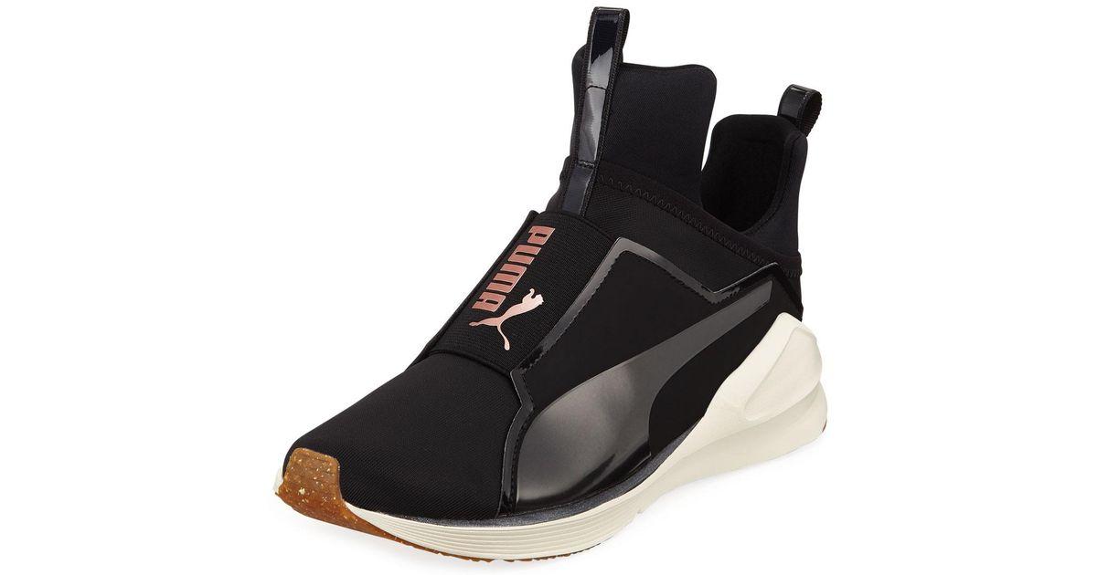 8107e4a79ed1ab Lyst - PUMA Fierce Vr Neoprene High-cut Sneakers in Black