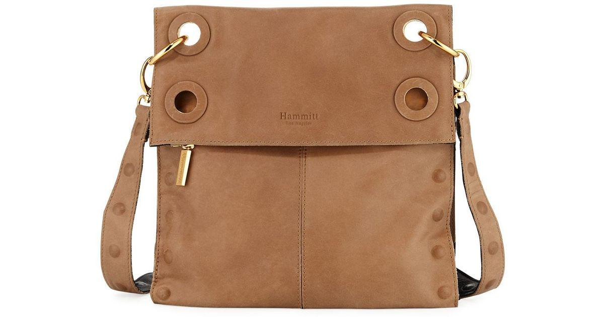 3240bd05c4 Lyst - Hammitt Montana Reversible Colorblock Crossbody Bag in Black