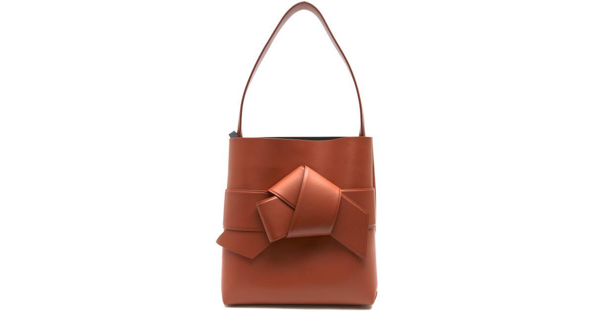 55e86eded3 Lyst - Acne Studios Musubi Bow Front Shopper Bag