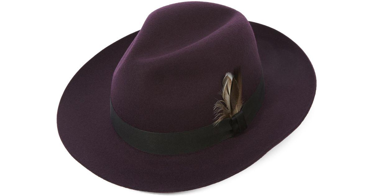 213e1cbefe1 Lyst - Christys  Grosvenor Fedora Hat in Brown for Men