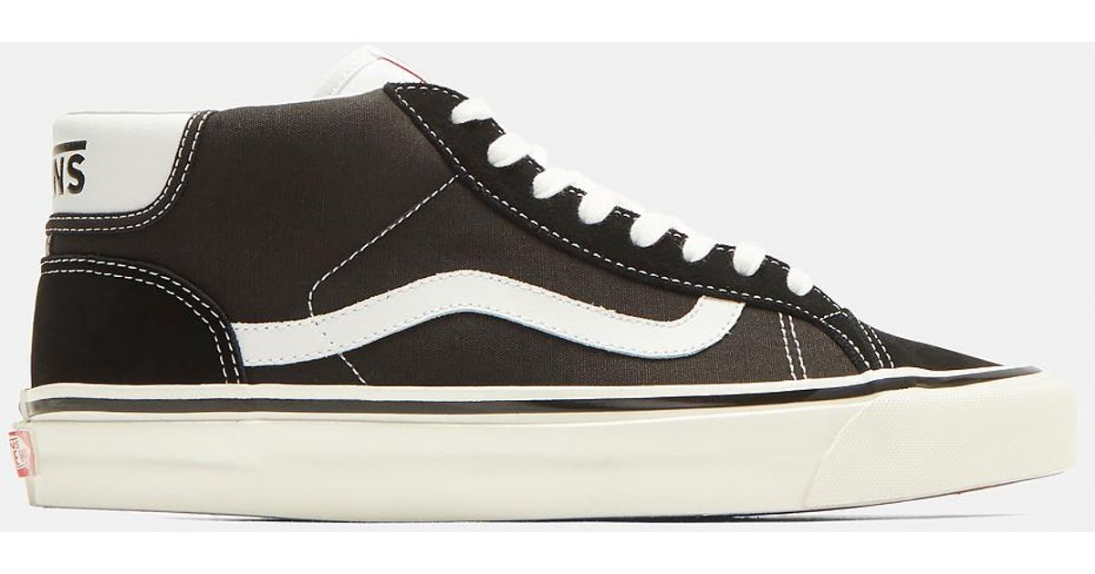 Lyst - Vans Classic Mid Skool Sneakers In Black in Black for Men 85a336e3dace