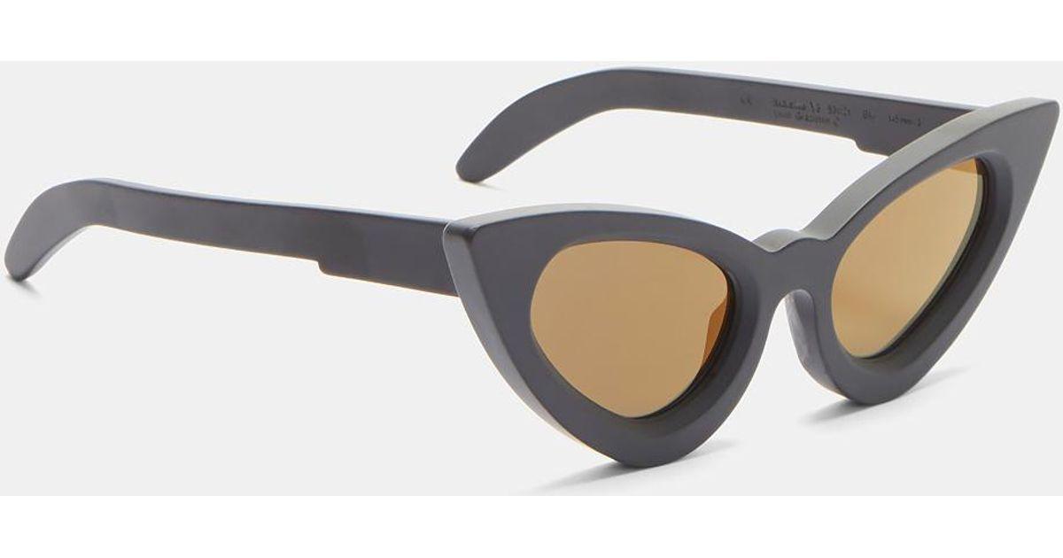 d44fd331077 Lyst - Kuboraum Mask Y3 Matte Cat Eye Sunglasses In Black in Black for Men