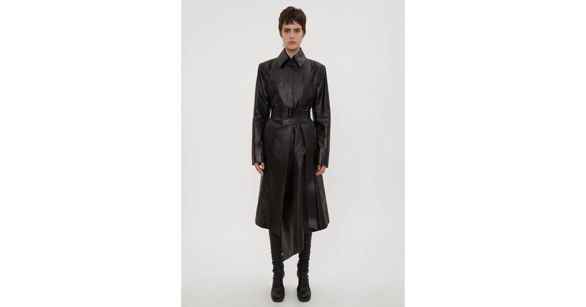 Coat Olivier Tailored Tailored Leather Leather Theyskens FYnwtqIwxA