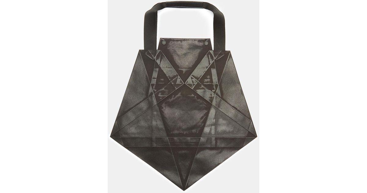 Issey Miyake Standard 4 Origami Tote Bag In Black