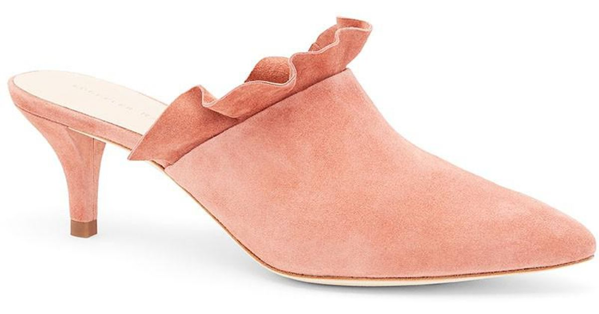 outlet limited edition clearance Inexpensive Loeffler Randall Berkley Pointed-Toe Mules w/ Tags outlet new discount factory outlet 0lSEB5qo