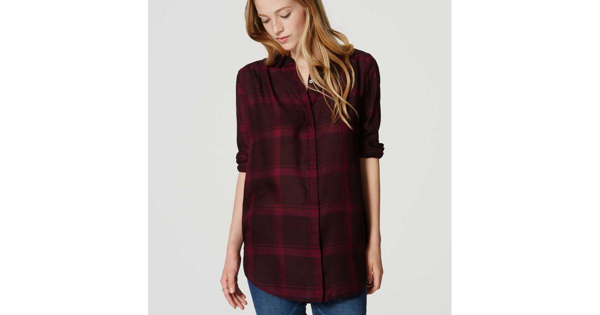 Loft Softened Chambray Shirt