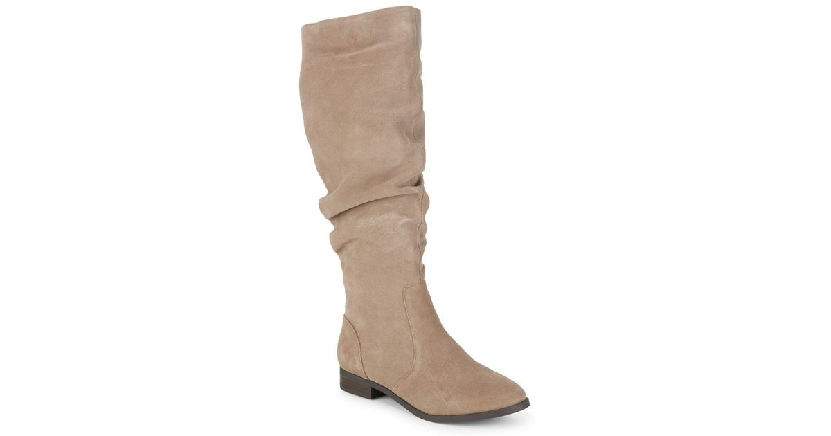 0aee61ab468 Lyst - Steve Madden Beacon Suede Boots in Brown