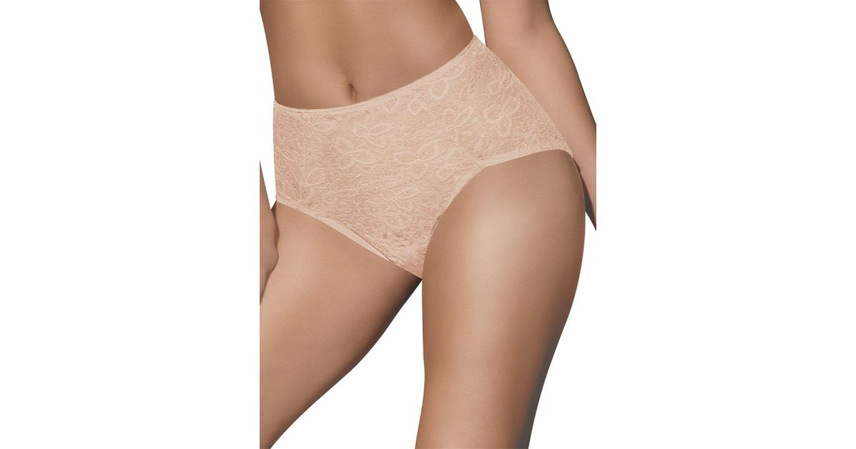 b31a4953d Bali Lace  n  Smooth Firm Control Brief in Natural - Lyst