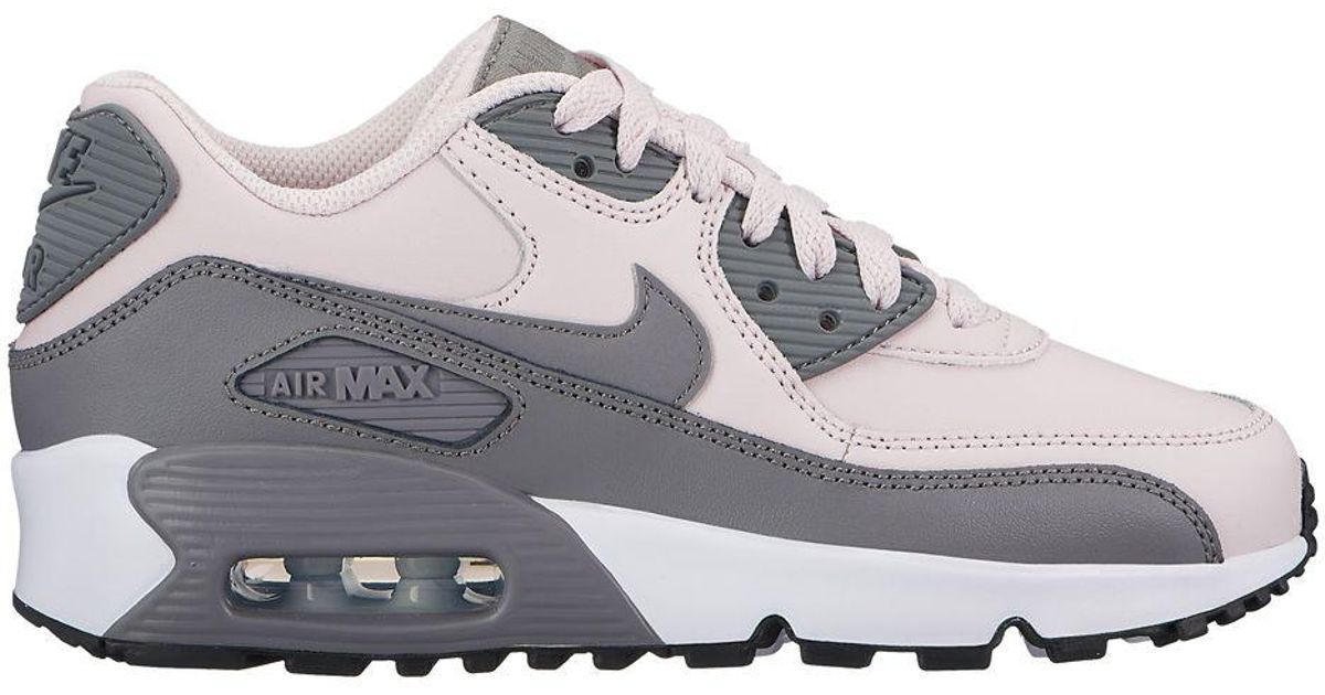 best loved 7f94d f9afe Lyst - Nike Girl s Air Max 90 Low Top Sneakers in White for Men