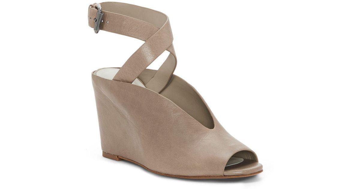 1. STATE Felidia Ankle Strap Wedge (Women's)
