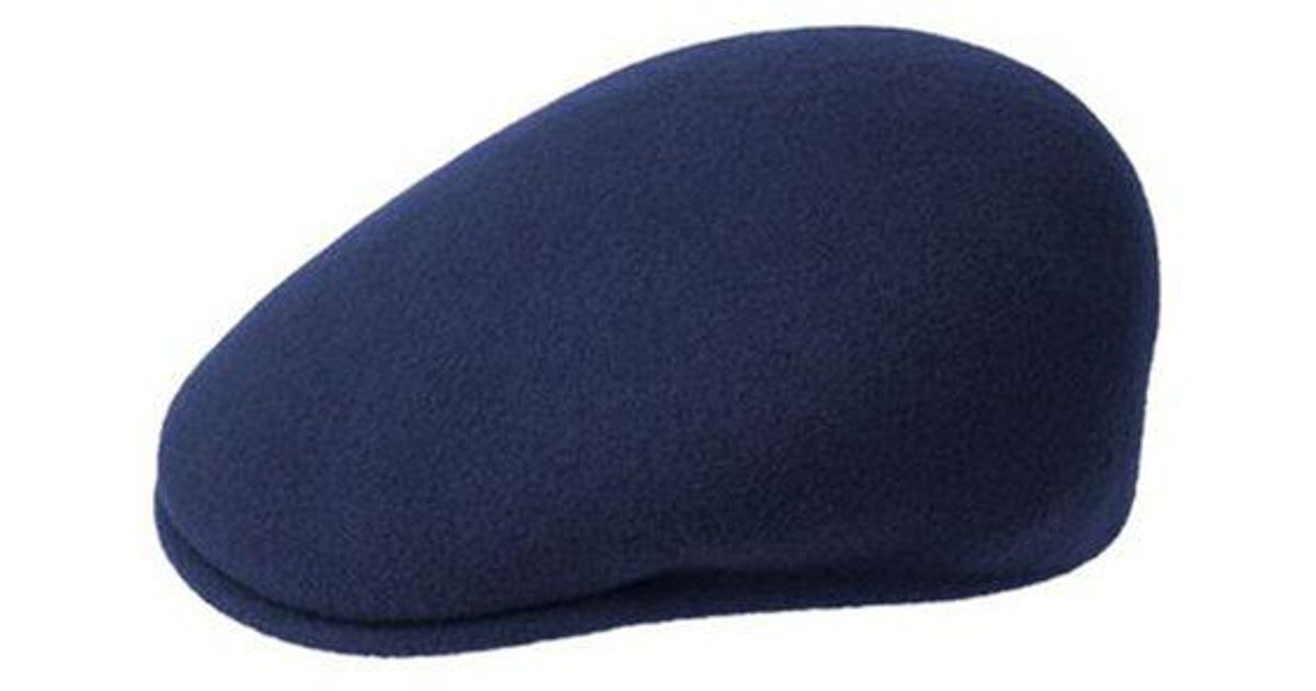 Lyst - Kangol Wool Driver Cap in Blue for Men 75f6a8cf014
