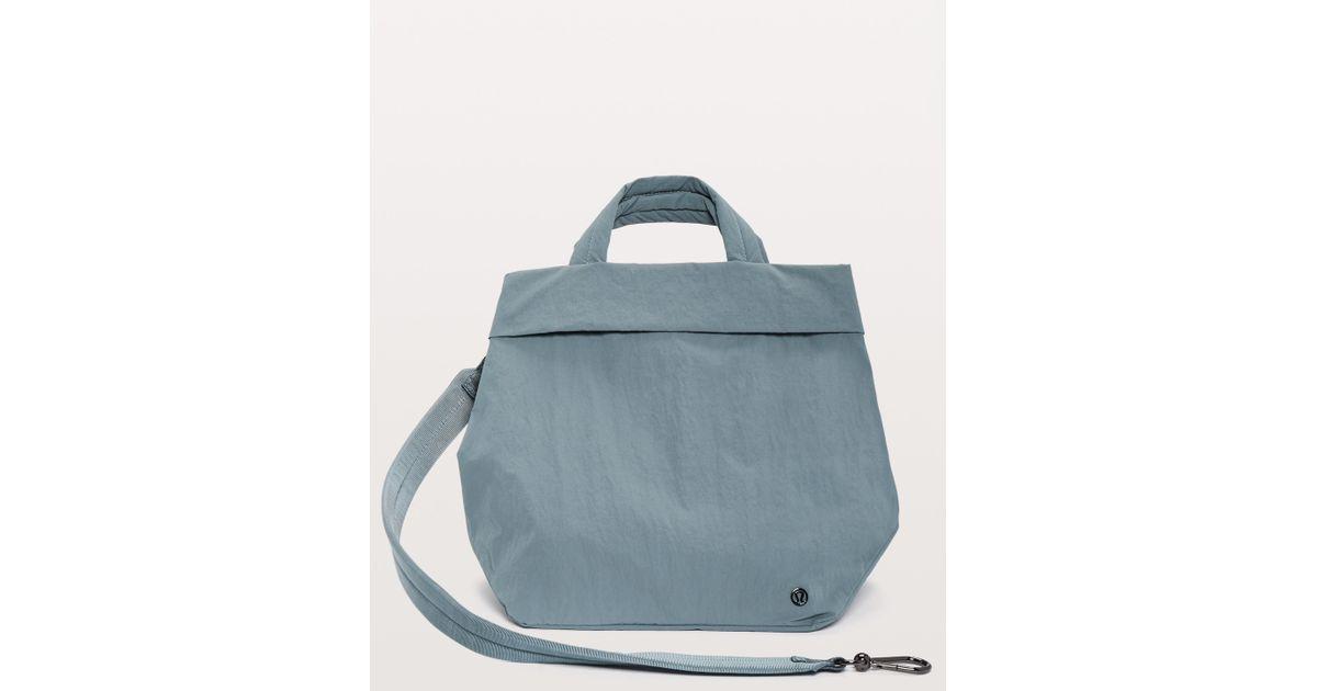 d8c0df1bffb lululemon athletica On My Level Bag *19l in Blue - Lyst
