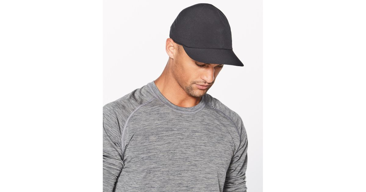 f387b4037672b lululemon athletica Ultra Lightspeed Run Hat in Black for Men - Lyst