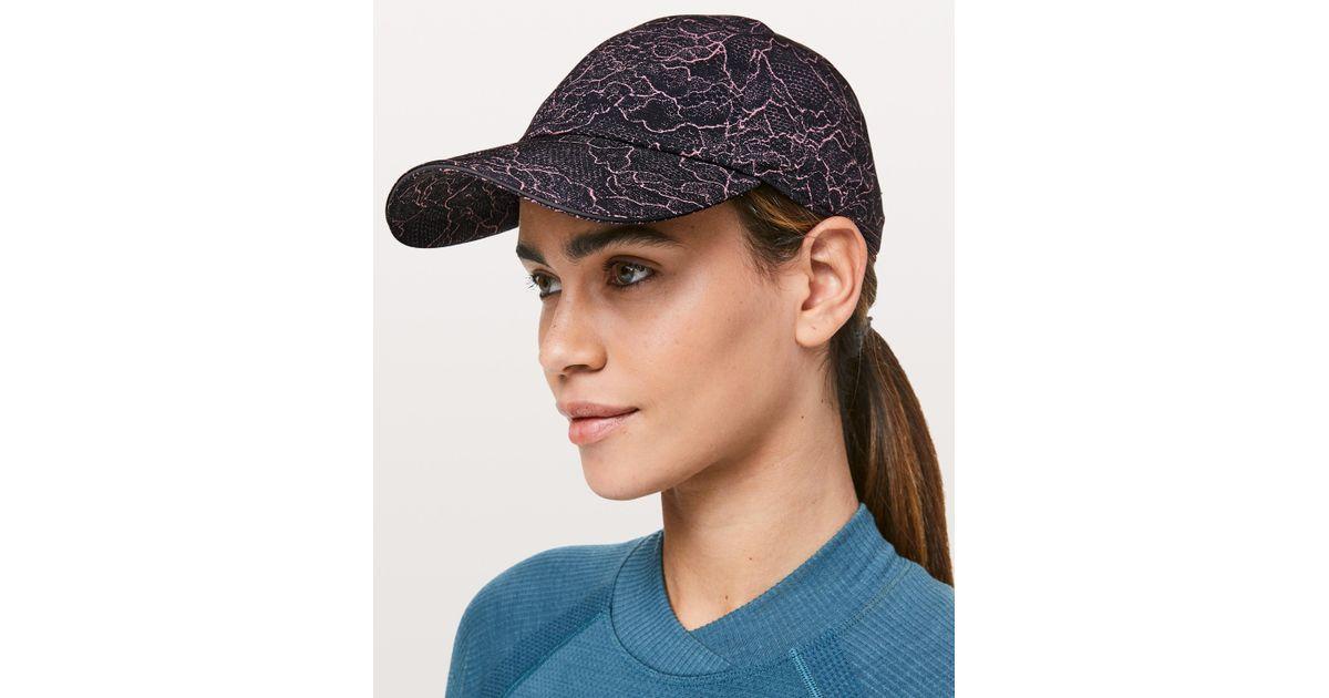 Lyst - lululemon athletica Baller Hat Run in Black d8e4849a295