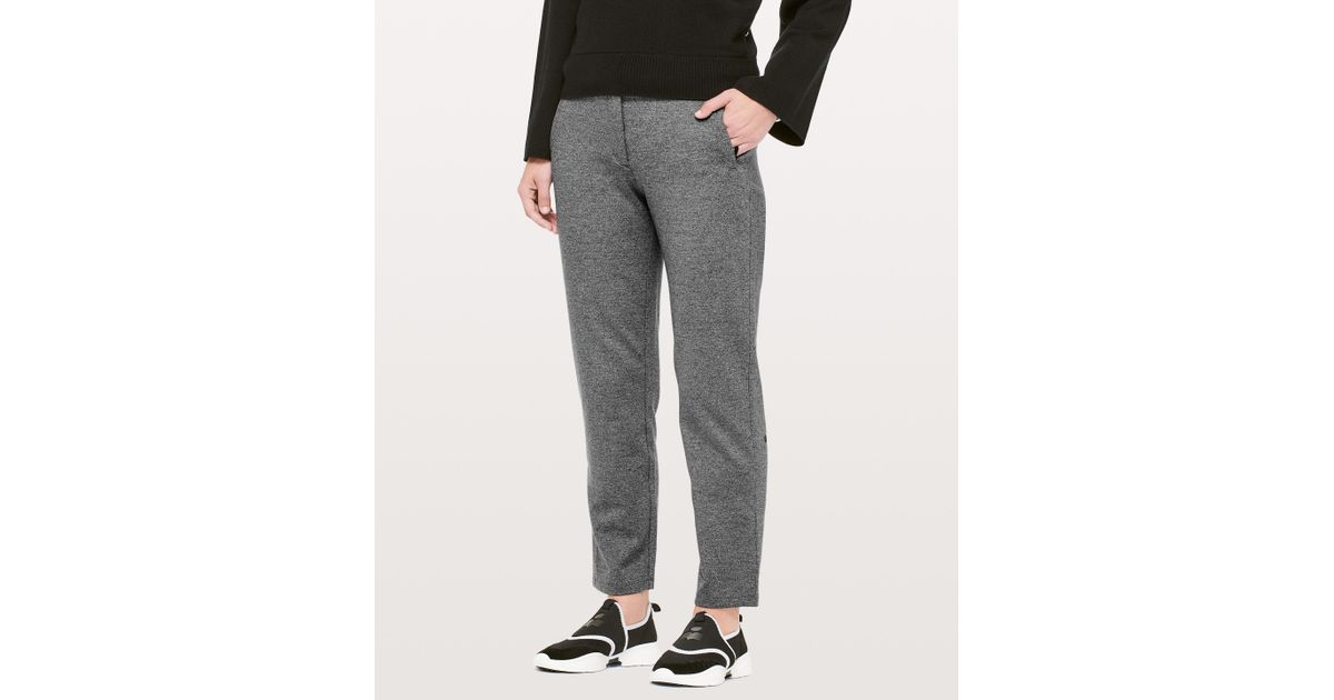 b1baac34d3e30a lululemon athletica On The Move Pant Ponte *28