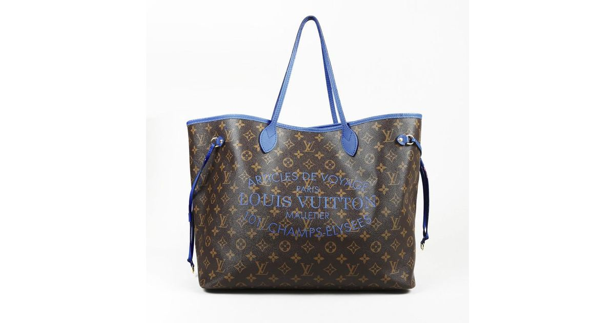 bba190e60cf9 Lyst - Louis Vuitton Limited Edition Monogram Articles De Voyage