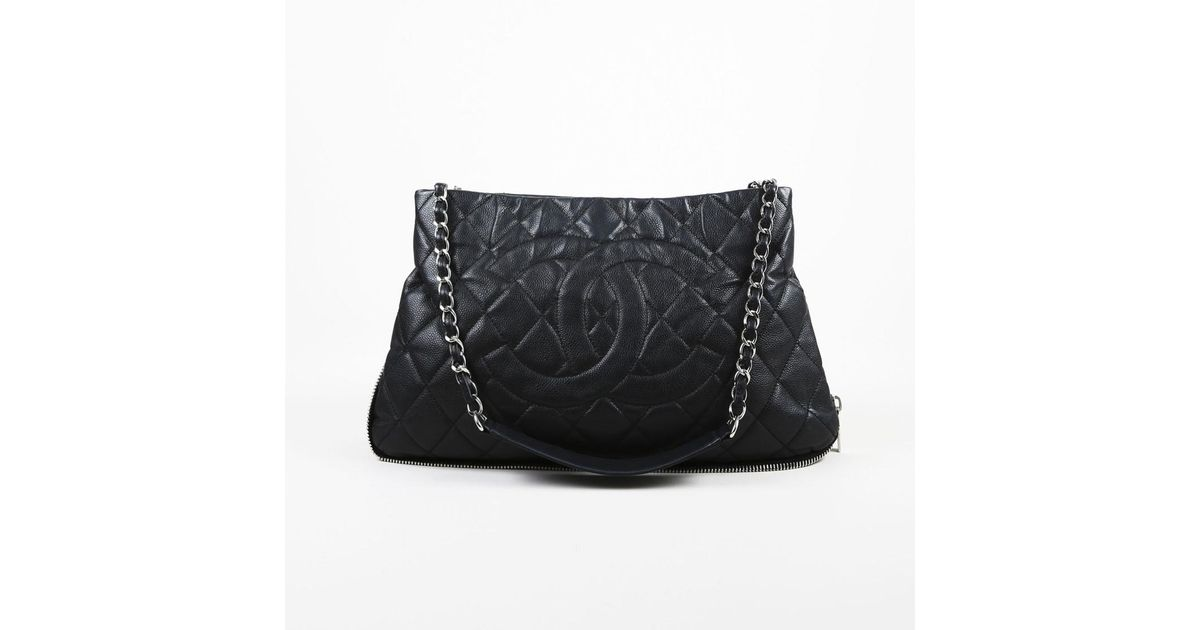Lyst - Chanel Black Quilted