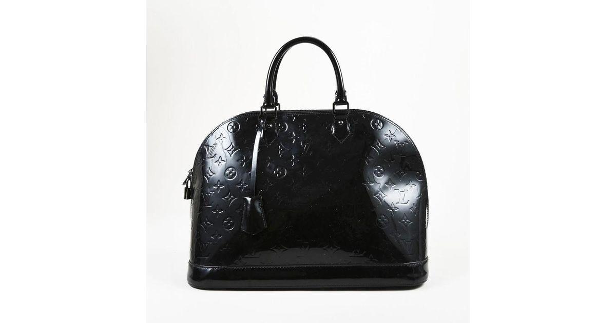 d672d96ebf49 Lyst - Louis Vuitton Black Monogram