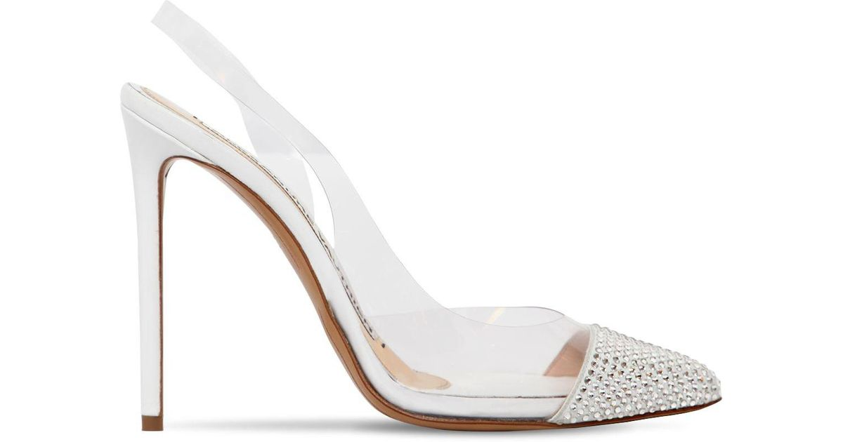 110mm Pumps Amber Vauthier In Pvc Alexandre Crystal Metallic Ghost UPZwnnx