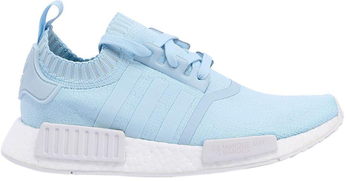 the best attitude dce4a 31bd8 Adidas Originals - Blue Nmd R1 Primeknit Sneakers - Lyst