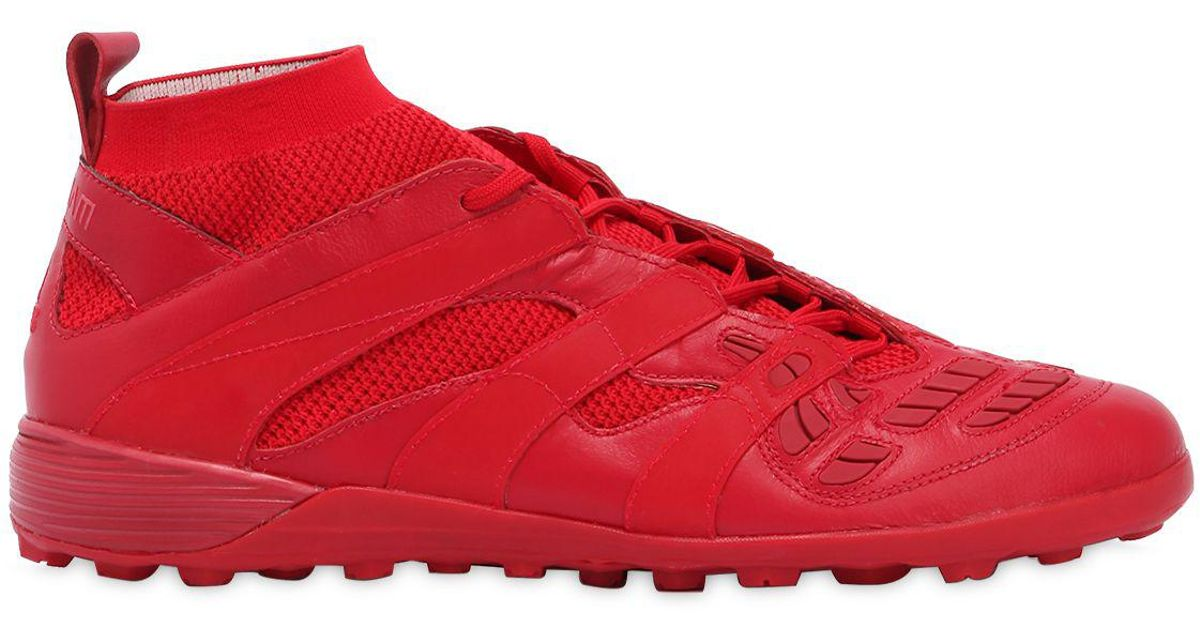 competitive price 74fd5 5b38a Lyst - adidas Originals Db Accelerator Tf Indoor Football Cleats in Red for  Men
