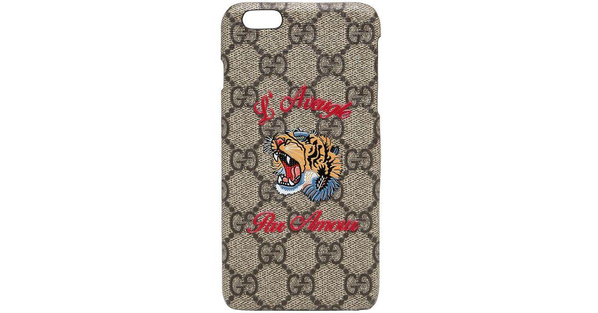 l'atteggiamento migliore 76c48 845ee Gucci Multicolor L'aveugle Par Amour Iphone 6 Plus Cover
