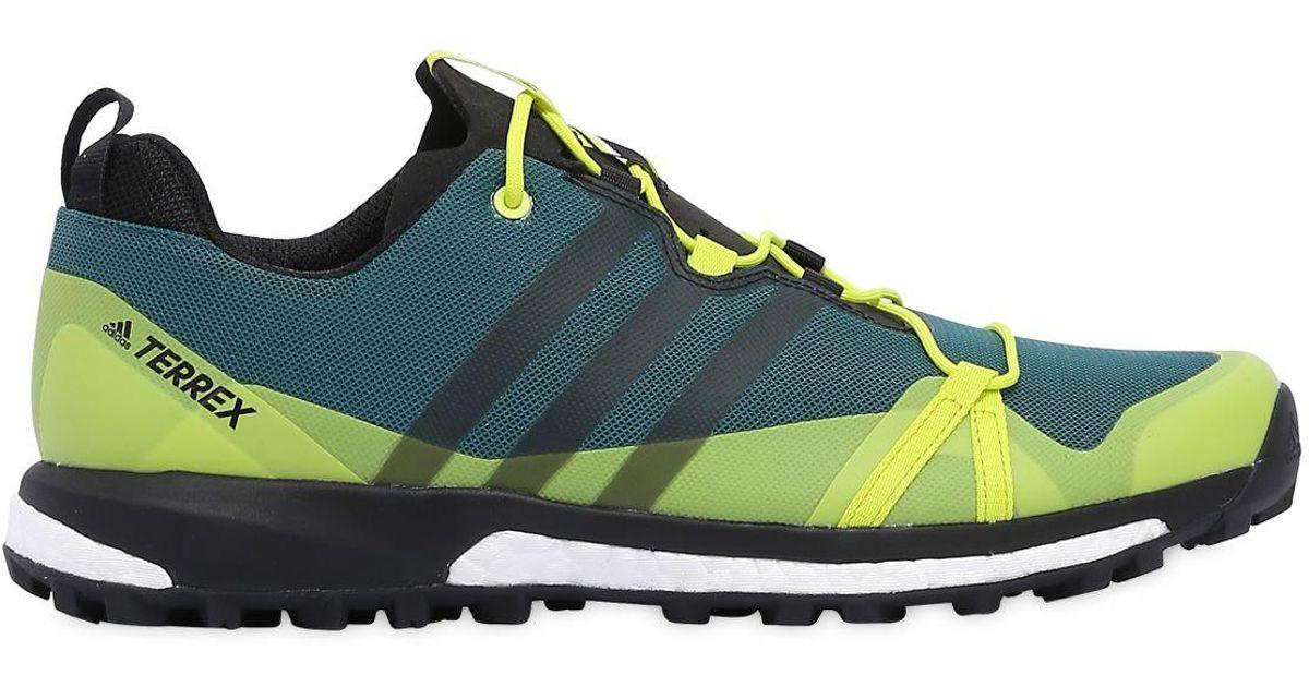wholesale dealer def5a 2c679 adidas Originals Terrex Agravic Boost Sneakers in Green for Men - Lyst