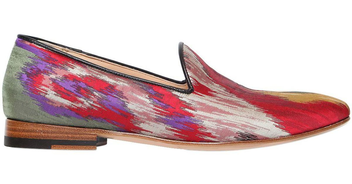Etro 20MM SATIN LOAFERS GqHeMIKHm