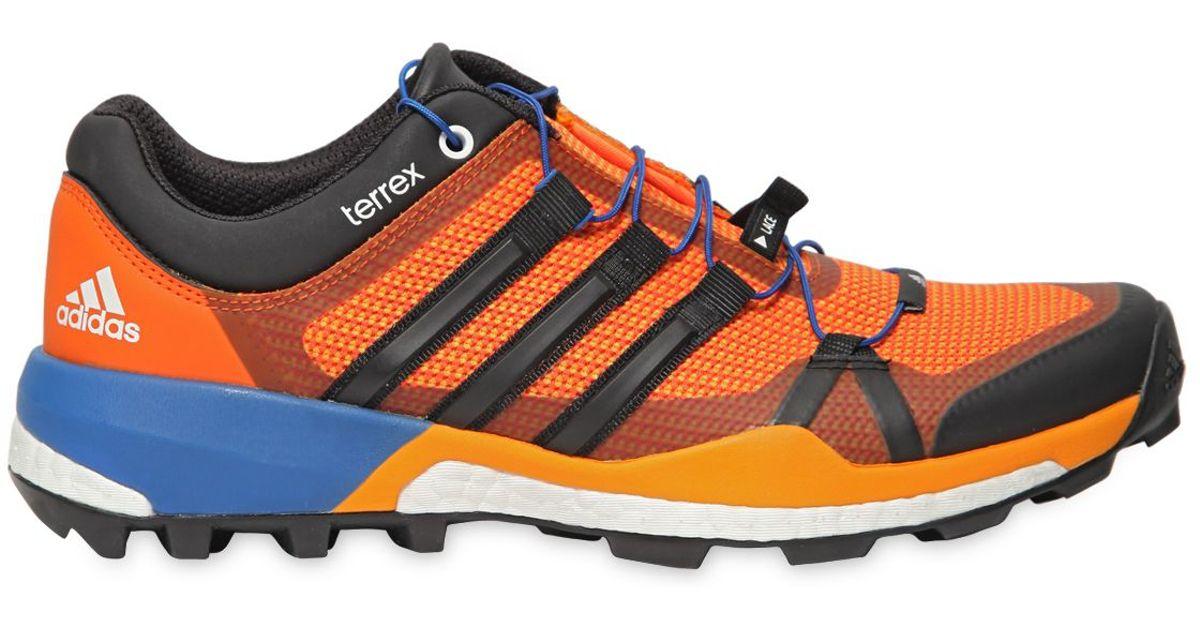 59716782d559c5 Lyst - adidas Originals Terrex Boost Skychaser Trail Sneakers in Orange for  Men