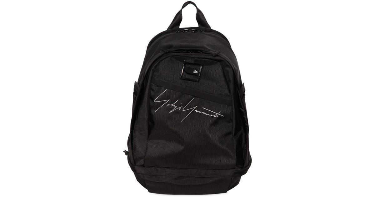 bdf1841984 Lyst - Yohji Yamamoto New Era Nylon Backpack in Black for Men