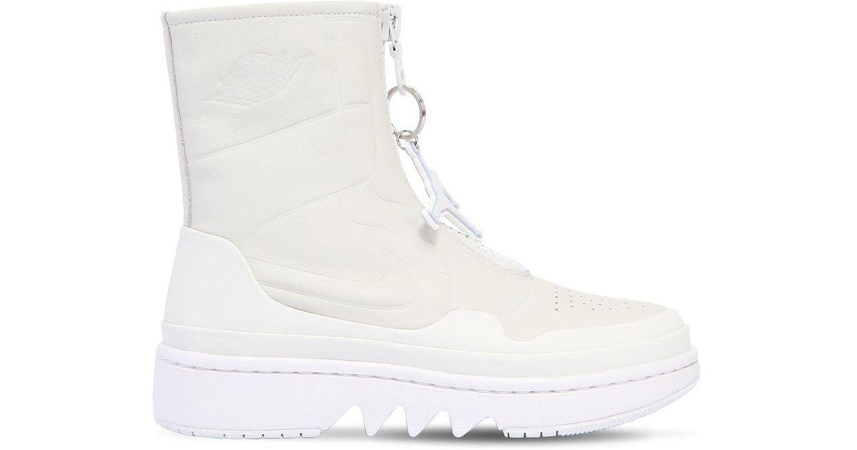 super popular 0484a f0fd2 Nike Air Jordan 1 Jester Xx High Top Sneakers in White - Lyst