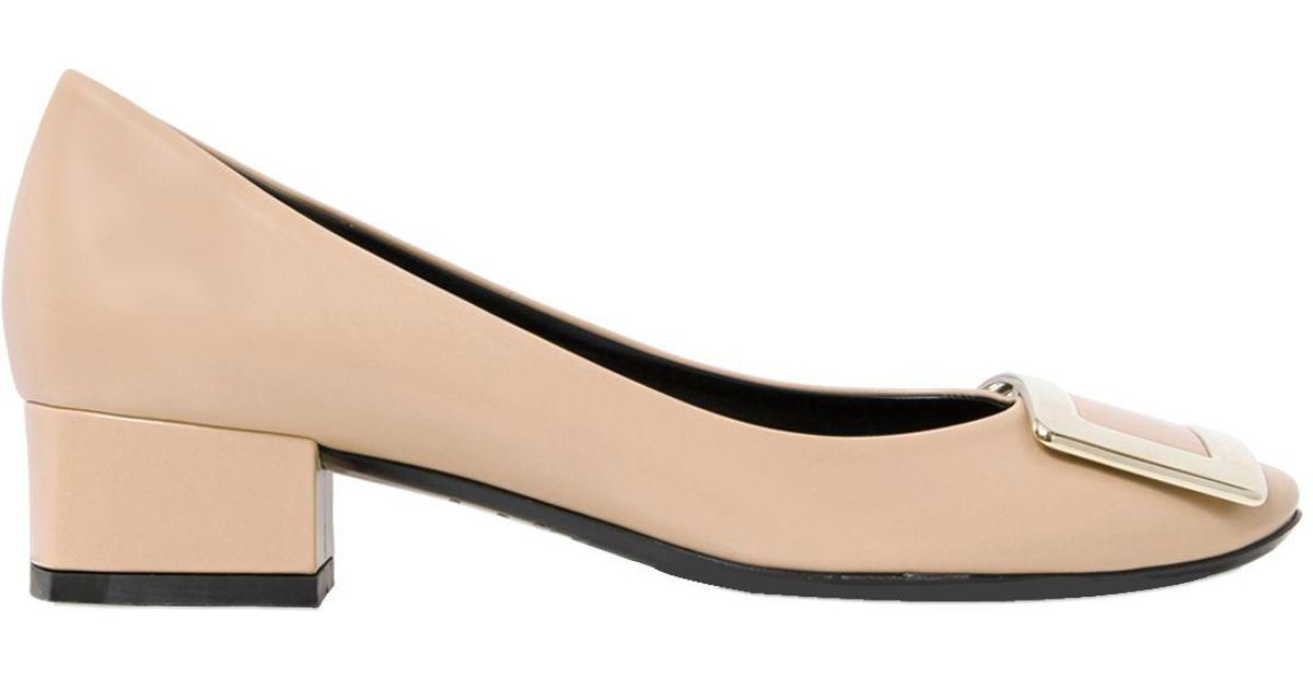 Roger Vivier Belle de Nuit Turtle Buckle Pumps