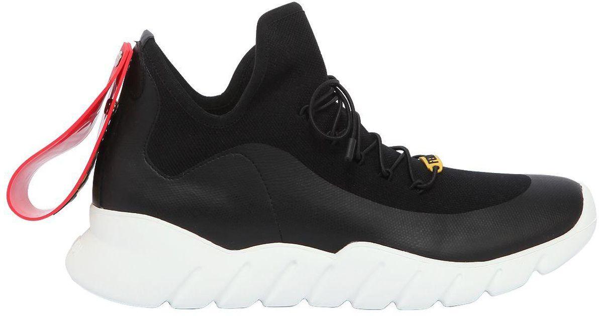Knit Technical Technical Sneakers Fendi Sneakers Technical Fendi Knit Nnkw0O8XP