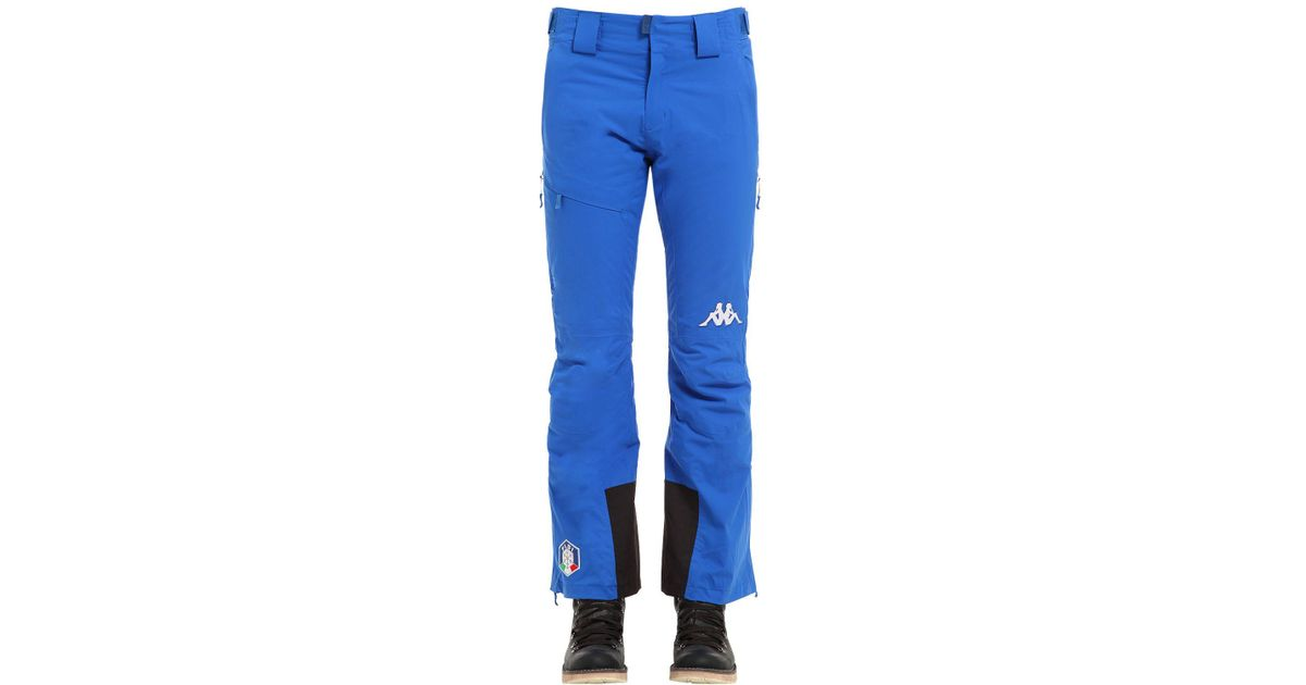 ccddc650e4e Kappa Fisi Italian Ski Team Pant in Blue for Men - Lyst