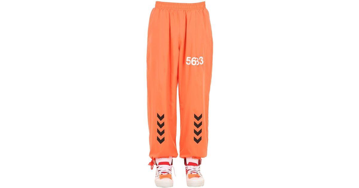 klasyczne style lepszy wykwintny design Hummel Orange Willy Chavarria Micro Pants for men