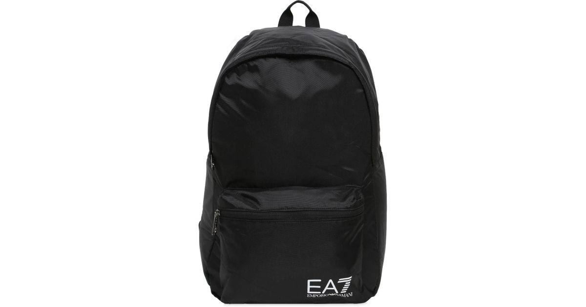 8f4f401f9b EA7 Train Prime Backpack in Black for Men - Save 38% - Lyst