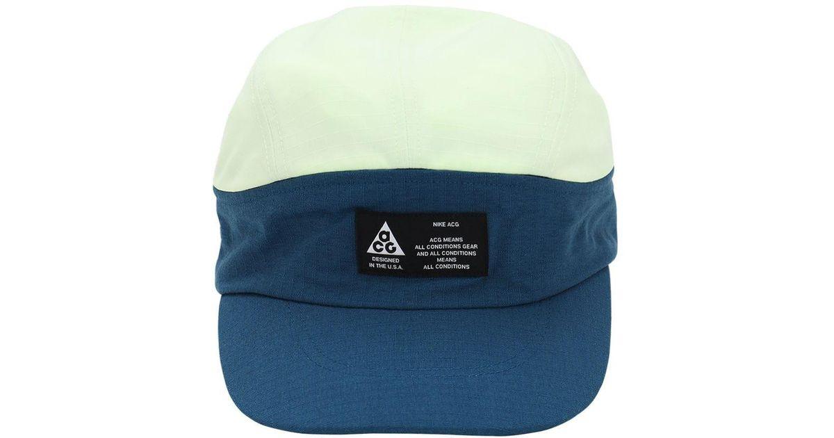 842c85432 Nike - Blue Acg Tailwind Techno Baseball Hat - Lyst