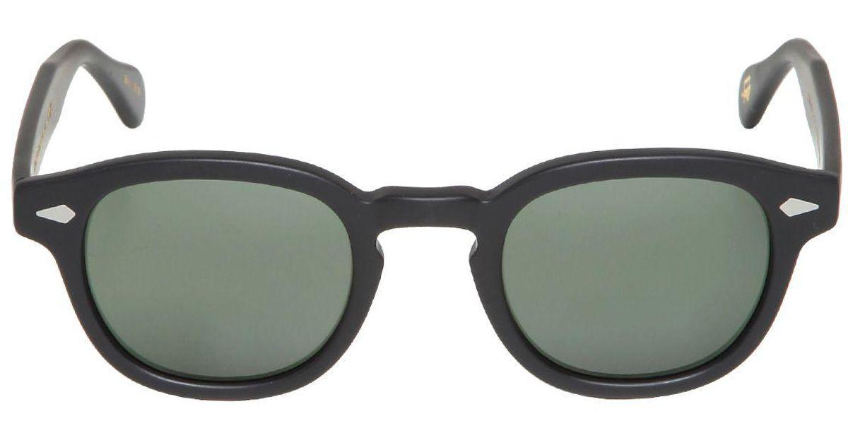 db422a87c9d Moscot Lemtosh Matte Black Sunglasses in Black for Men - Lyst